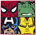 Character World Disney Marvel Comics Defenders Shaped Rug - cheap UK rug shop.