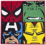 Character World Disney Marvel Comics Defenders Shaped Rug