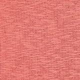 Fabulous Fabrics Jersey a Coste Double Face garzato – Corallo — Vendita al Metro da 0,5m — Oeko-Tex Standard 100 Classe I — per Cucire Giacche, Abiti e Pullover