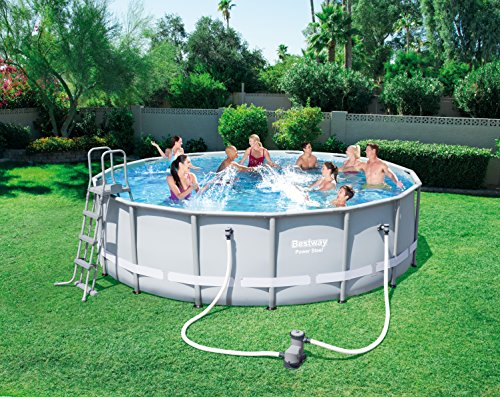 Bestway Frame Pool Power Steel Set 488×122 cm - 3