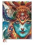 Paperblanks – Collezione Android Jones Dharma Drago – Calendario 12 mesi 2019 Ultra Settimanale Verticale – edizione in lingua tedesca
