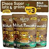 Slurrp Farm Millet Pancake Mix : Chocolate and Supergrains (Pack of 3)
