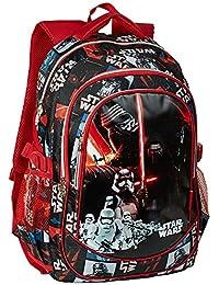 Karactermania Star Wars Lightsaber Mochila Tipo Casual, 44 cm, 22 Litros, Rojo