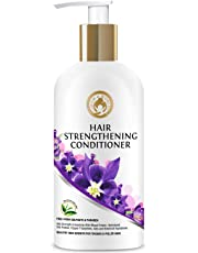 Mom & World Hair Strengthening Conditioner - Protein Conditioner For Thicker And Fuller Hair, 300ml (No SLS, Paraben)
