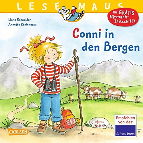 Conni in den Bergen (LESEMAUS, Band 132)