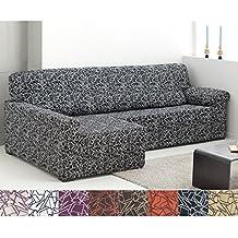 Amazon.es: funda para cheslong con zo izquierdo on chaise furniture, chaise sofa sleeper, chaise recliner chair,