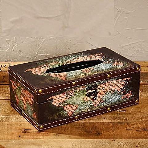 K&C Hand Crafted Antique Tissue Box Dispenser Tissue Box Holder World