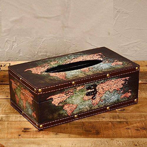 K&C vecchio artigianato del mondo dispenser del tessuto scatola del tessuto titolare ha fatto