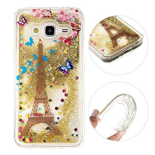 Samsung Galaxy J3 Custodia, Moon mood® Bumper per Samsung J3,