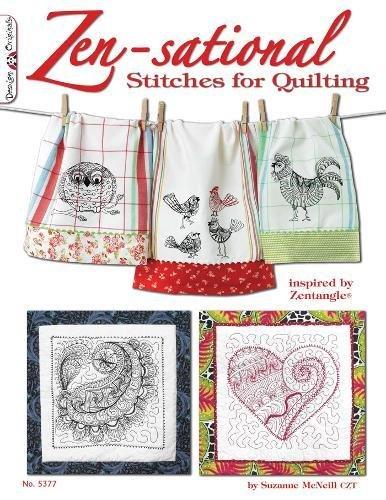 Zen-sational Stitches for Quilting: Inspired by Zentangle (Design Originals) por Suzanne McNeill
