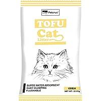 Petcrux Tofu Cat Litter Natural Cat Litter Flushable Cat Litter Clumping Plant Cat Litter Ultra Odor Control Cat Litter…