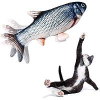 ANTKING Flippity Fish, Simulations Fisch Elektrisches Wiederaufladbar mit USB Kabel, Interaktives Fisch Spielzeug für…