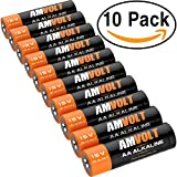 10 Pack AA Batteries [Ultra Power] Premium LR6 Alkaline Battery 1.5 Volt Non Rechargeable Batteries For Watches Clocks Remotes Games Controllers Toys & Electronic Devices - 2020 Expiry Date