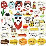 Howaf 56 Fiesta Cinco de Mayo Decorazioni Pendenti, Messicano Accessori Festoni a Spirale Ghirlanda Hanging Swirl per Messicano Feste Compleanno Carnevale Decorazioni
