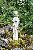 Pie Buda Estatua de piedra Drift Madera interiores y exteriores de jardín de efecto...