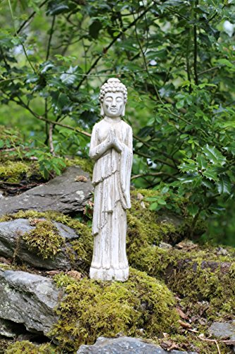 standing-buddha-stone-drift-wood-effect-garden-outdoor-indoor-statue-ornament