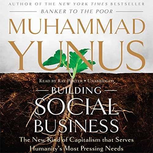 Building Social Business  Audiolibri