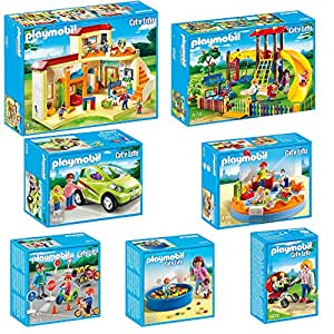 playmobil city life set 5567 5568 5569 5570 5571 5572. Black Bedroom Furniture Sets. Home Design Ideas