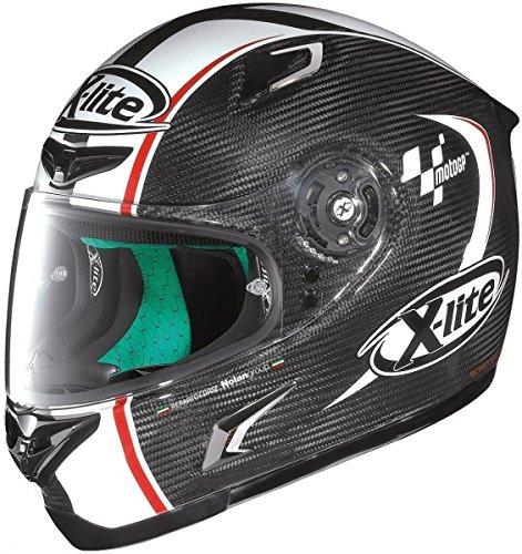 X-lite X-802RR Ultra Carbon MOTOGP Integralhelm Motorrad - carbon weiss Größe L