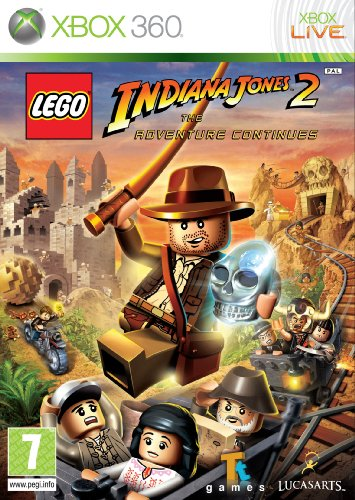 Lego Indiana Jones 2: The Adventure Continues [UK Import] - Indiana Xbox Lego Jones