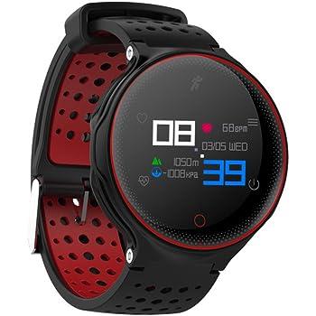 elecfan Fitness Trackers Watch, pulsera inteligente con presión arterial Monitor de frecuencia cardíaca podómetro Sleep