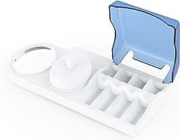 Portaspazzolino per spazzolini elettrici. Base di sostegno Poketech per spazzolini elettrici Oral-B, porta-spazzolino: 1...