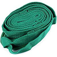 XU-XIAZHI,El cinturón de Estiramiento de Yoga y algodón se Utiliza en Todas Las Clases de Yoga(Color:Verde)