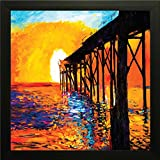 #9: PPD Paintings with Picture frame for wall. Frame size (12 inch x 12 inch, Special Effect Textured)