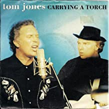 "Tom Jones Carrying A Torch Produced by Van Morrison UK 45 7"" sgl +Picture Sleeve"