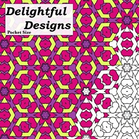 Pocket Size Delightful Designs: Relaxing On The Go Mini Coloring