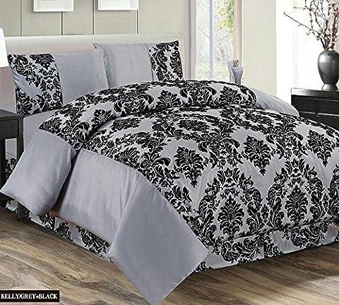 Rideau Roma - AaaTextile Parure de lit complète 4pièces Super