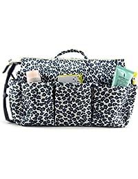 Periea Handbag Organiser LARGE 13 Compartments+FREE Key Clip - Lepoard - Nikki