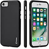 iPhone 7 Funda, iPhone 8 Funda - Vakoo iPhone 7 / iPhone 8 Carcasa Case Teléfono Móvil Protección TPU Cover para iPhone 7 / iPhone 8 4.7 Inch (Negro)