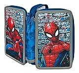 Doppeldecker Schüleretui mit Stabilo Markenfüllung, Marvel Spider-Man