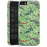 Apple iPhone 5s Hülle Premium Case Schutz Cover Dschungelbuch Muster Disney