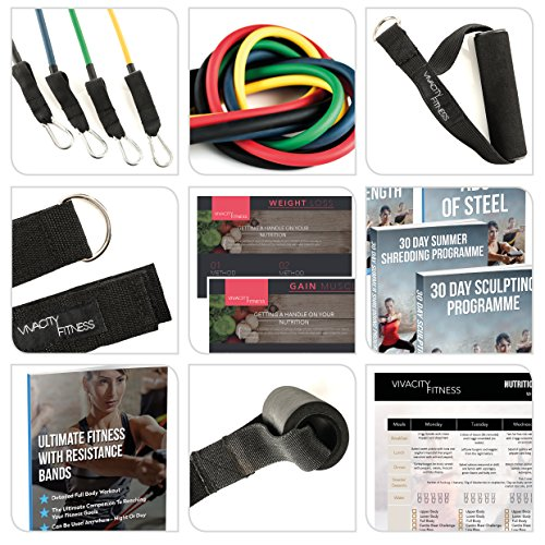 Resistance-Bands-Set-for-Home-Exercise-Strength-Training-Yoga-Pilates-Mobility-Crossfit-and-Overall-Fitness-5-Exercise-Bands-with-Scaled-Resistance-Levels-for-an-Amazing-Workout