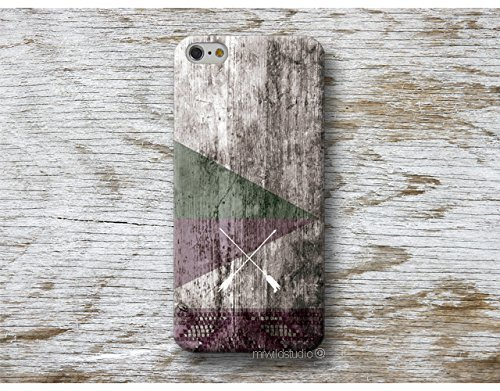 Native Pfeile Holz Print Hülle Handyhülle für iPhone X XR XS MAX 4 4s 5 5se se 5C 5S 6 6s 7 Plus iPhone 8 Plus iPod 5 6