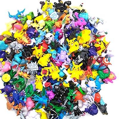 Pokemon figuras lote colección de 144 personajes de plastico diferentes 4411 de ONOGAL