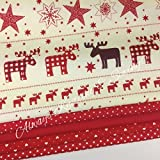 Always Knitting And Sewing Stoffe mit Weihnachtsmotiven,