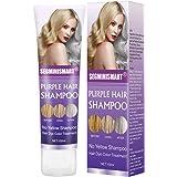 Champú Purpura,Purple Shampoo,No Yellow Shampoo, Brassy ...