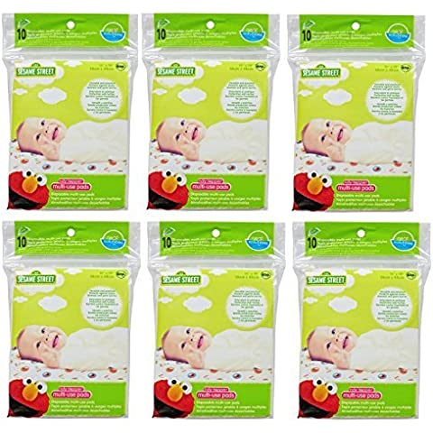 Neat Solutions Sesame Street Tidy Topper Disposable Multi Use Pad, 15