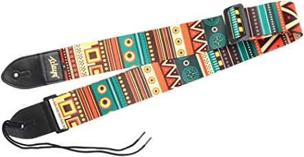 Magideal Adjustable Guitar Strap with PU Leather Ends - #3