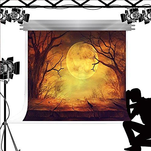 Hintergrund Forest Holz Boden Hintergrund für Halloween Fotografie Studio Fotos 10x6.5ft/3x2m (Photocall Halloween)