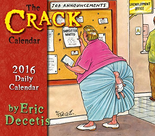 Crack 2016 Boxed/Daily Calendar by Eric Decetis (2015-06-15) 2015 Boxed Daily Calendar