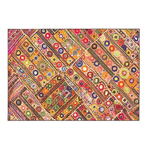 Everyday home- moquette/tappeto stile etnico cinese prodotti in fibra chimica materiale in poliestere rettangolo tappeto soggiorno/tappetino camera da letto/foyer/cucina/balcone