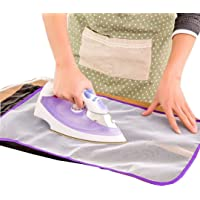 INKULTURE 1 Pcs Ironing Mesh Cloth Guard Protective Press Mesh Mat for Clothes Iron Mesh Sheet | Material Mesh | Size 40…