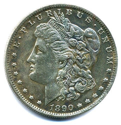 Preisvergleich Produktbild Münze USA 1890 - 1 $ Morgan Dollar CC - Carson City - United States of America - Replica