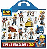 Mission bricolage Bob le bricoleur : Plus de 20 stickers en mousse repositionnables