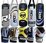 RDX Kids Heavy Boxing 2FT Punch Bag Filled MMA Punching Training Gloves KickBoxing