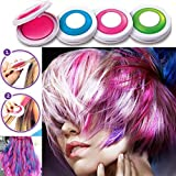 PEPECARE 4 Colors Hair Dye Powder Temporary Hair Styling Chalk Salon Home Party Pastels